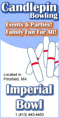 Candlepin Bowling provided by Imperial Bowl located in Pittsfield MA
